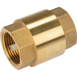 Clapet anti-retour Femelle laiton - Filetage 20 x 27 mm