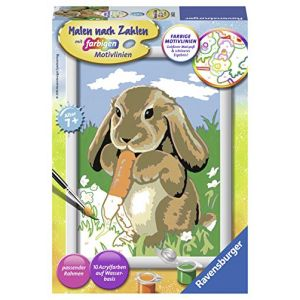 "Ravensburger 280223 - Numéro D'art Set ""Jeannot Lapin Cline"""