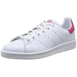 Adidas Stan Smith J B32703, Baskets Mode Enfant - EU 37 1/3