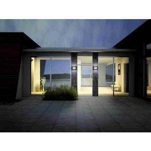 Helestra Applique extérieure FLOW LED Blanc, 2 lumières - Moderne - Extérieur