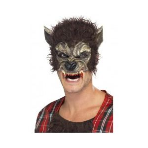 Demi masque loup garou