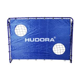 Hudora 76127 - But de football Freekick avec toile d'entraînement 213 cm