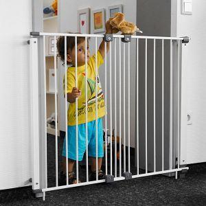 Geuther 4722 - Barriere de sécurité Purelock pivotante en métal (61-107 x H81 cm)