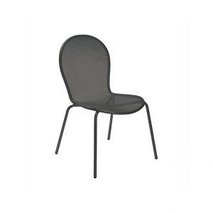 Emu Chaise de jardin empilable Ronda fer ancien