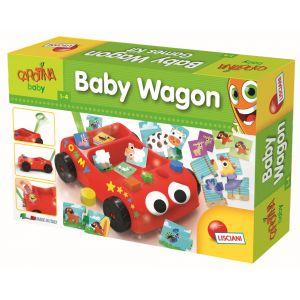Lisciani Giochi Chariot jeux à tirer Carotina Baby
