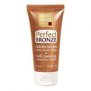 Mary Cohr Perfect Bronze Autobronzant crème teintée visage