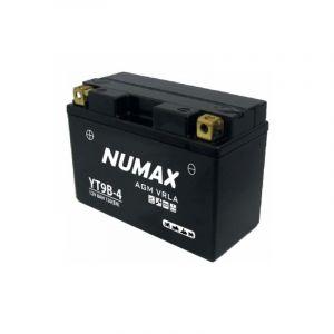 Numax Batterie moto Premium AGM YT9B-4 12V 8Ah 120A