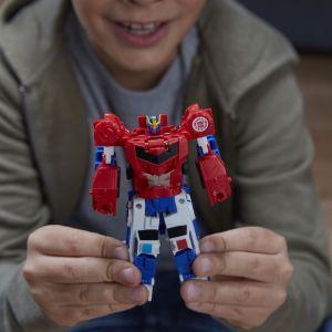 Hasbro Figurine Transformers Combiner Force Bumblebee et Sideswipe