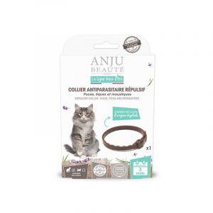 Anju Beauté Paris Collier insectifuge pour chat 35 cm