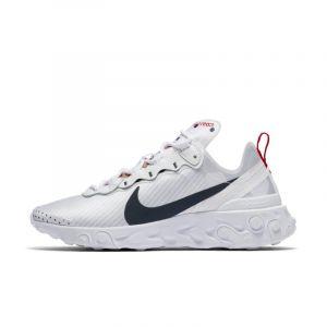 Nike Chaussure React 55 Premium Unité Totale pour Femme - Blanc - Taille 38 - Female