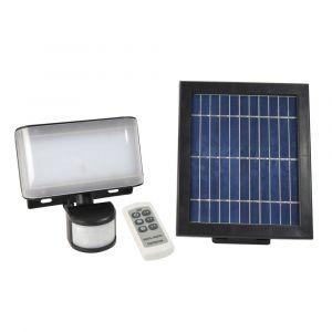 Gefom Projecteur led solaire avec détecteur de mouvement