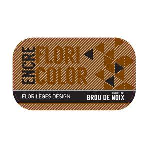 Florilèges Design Encre Floricolor - brou de noix