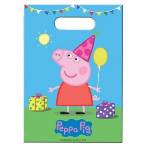 8 sachets cadeaux Peppa Pig
