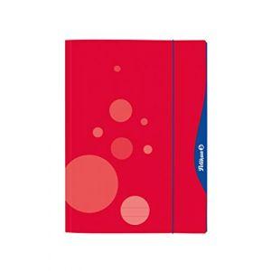 Pelikan Chemise à rabat 'quick open', A4, rouge - Lot de 5