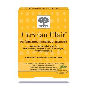 New Nordic Cerveau Clair- 60 comprimés