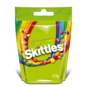 Skittles Crazy sours Bonbons - 6 x 174g