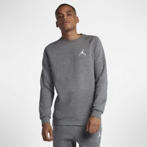 Nike Haut en tissu Fleece Jordan Jumpman Air Homme - Gris - Taille L