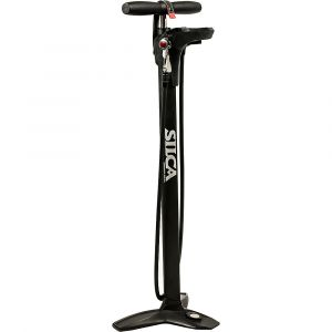 Silca Super Pista Digital Floor Pump, black Pompes à pied