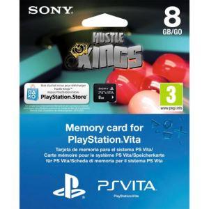 Sony Carte mémoire 8 Go + Hustle Voucher pour PS Vita