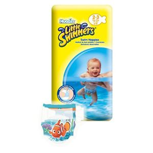 Huggies Little Swimmers taille 2-3 (3-8 kg) - 12 couches de bain