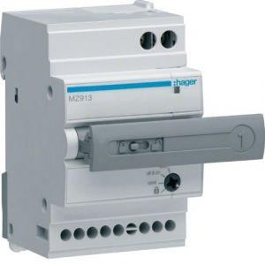 Hager Auxiliaire de télécommande et de réarmement automatique (MZ913)