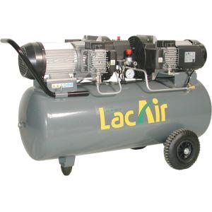 Lacme MaxAir 40/100 - Compresseur monophasé sans huile 40 m³/h sur cuve 100 litres (460900)