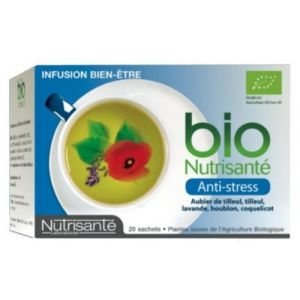 Nutrisanté Infusion Bio Anti-Stress 20 sachets