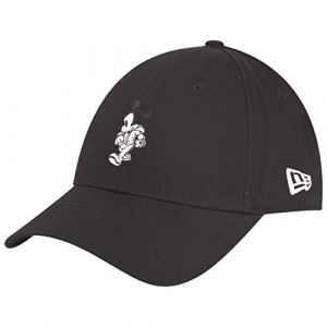 New era A Street Mickey Cotton 9forty Micmou Blk Casquette Mixte Adulte, Noir, Taille Unique