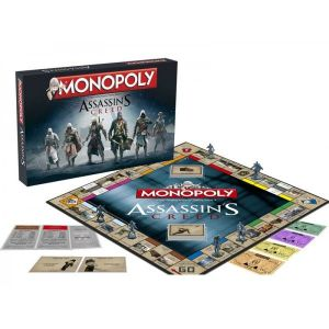 Hasbro Monopoly Assassin's Creed (version anglaise)