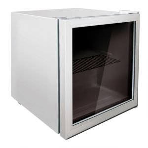 Exquisit KB01-7G - Réfrigérateur table top porte vitrée