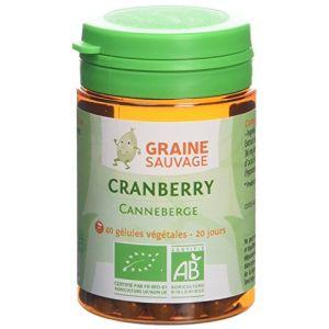 Graine sauvage Cranberry Bio Pilulier de 40 Gélules