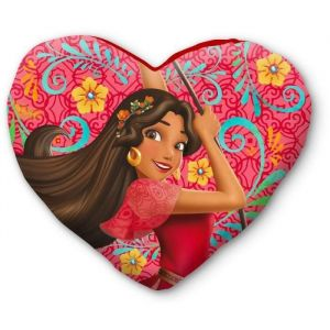 Coussin coeur Elena d'Avalor