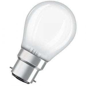 Osram Ampoule LED B22 sphérique dépolie 4 W équivalent a 40 W blanc chaud