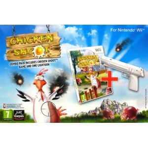 Image de Pack Chicken Shoot + Gun Wiimote [Wii]
