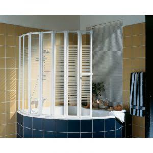 Schulte-ufer Pare douche 7 volets Eden Plus 158 cm pour baignoire