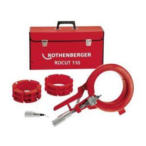 Rothenberger Set ROCUT 110 pour tubes en plastique 50, 75 et 110 mm 55035