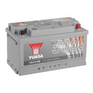 Yuasa BATTERIE YBX5110 SILVER 12V 85Ah 800A