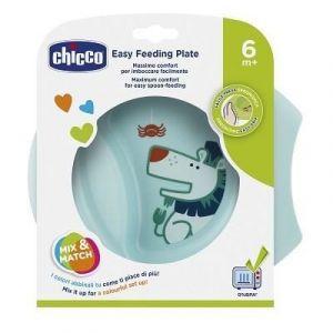 Chicco Assiette bébé d'apprentissage Easy bleu 6 M+