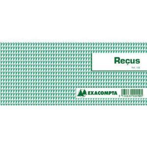 Exacompta Carnet souche 50 feuillets avec talon (90 x 13 mm)