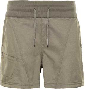 The North Face W Aphrodite Short New Taupe Green Heather Shorts de randonnée