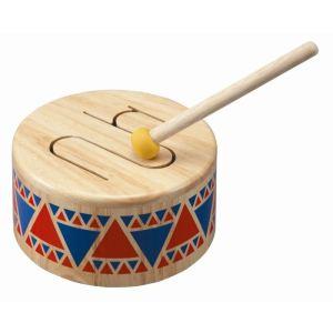 Plan Toys Tambour en bois