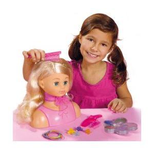 Simba Toys Tête à coiffer Steffi Love (25 cm)