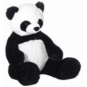 Heunec Peluche Panda assis