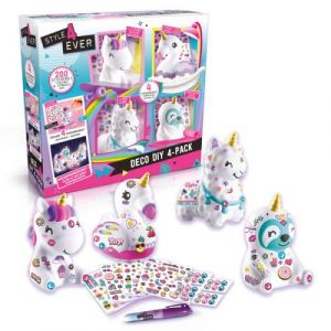 Canal Toys Figurines Style For Ever Déco DIY 4 en 1