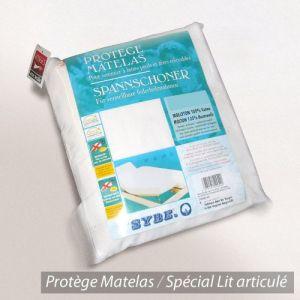 Linnea Antonin - 2 protège matelas absorbant spécial lit articulé TPR (80 x 200 cm)