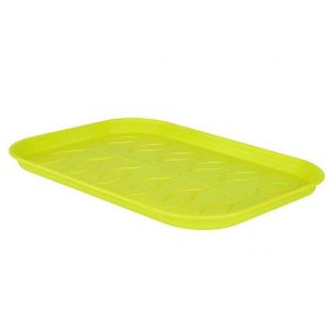 Elho Soucoupe verte taille L pour plateau de culture 18,8 x 50,9 cm