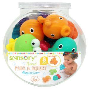 Sensory Arroseurs de bain faciles à nettoyer