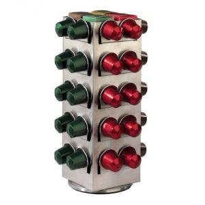 Xavax 00111139 - Porte capsules Terrazzo pour 80 dosettes Nespresso