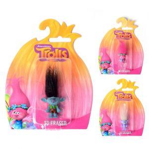 Gomme Trolls 3D (modèle aléatoire)