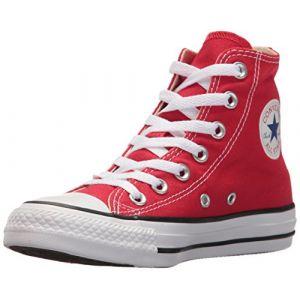 Converse Chuck Taylor Yths C/t Allstar Hi Canvas, Chaussures de Fitness Mixte Enfant, Rouge (Red 600), 27 EU